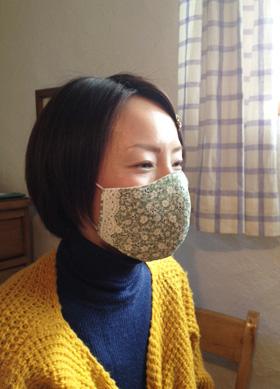 マスク 型紙 ベトナム